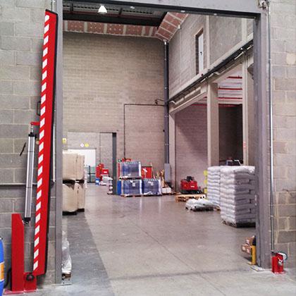 barreras de retención mecánicas neumáticas