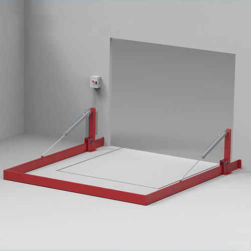Barreras de retención automáticas de pórtico